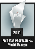 2011 Five Star Professional badge